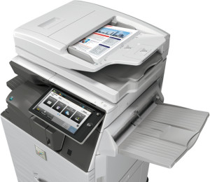 SHARP MX-3070 scanner